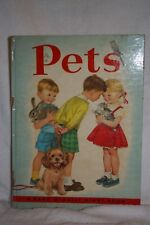 """""""Pets""""  Rand McNally Giant Book   Great Condition"""