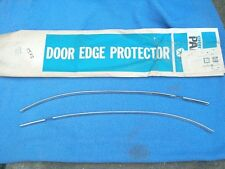 1967 1968 1969 Plymouth Barracuda Cuda NOS MoPar DOOR EDGE PROTECTOR SET