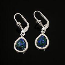 Fashion sterling silver 925 earrings Eilat stone Israel ! Gift Jewelry & Love