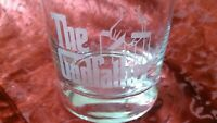 The Godfather Movie - Old Fashioned Whiskey Rocks Glass 11 oz. - Godparent Gift?