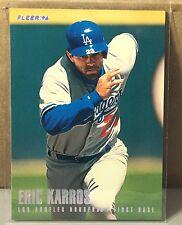 1996 FLEER TIFFANY #438 ERIC KARROS LOS ANGELES DODGERS
