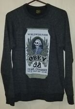 Obey Propaganda Pullover Sweater size Small Head Changer