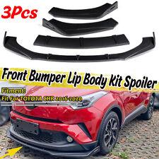 Carbon Look Front Bumper Splitter For Toyota Corolla Camry XSE CHR RAV4 4Runner