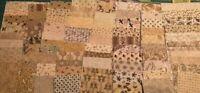 """50 -  5"""" x 5"""" Fabric Squares -  - CIVIL WAR  PRINTS   -GRAB BAG SALE"""