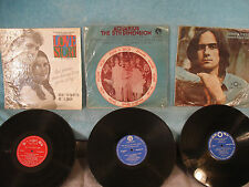 3 Records 1 Price! James Taylor / Love Story / 5th Dimension, Imported from Asia