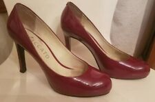 ddc1eabb0e57 Staccato Patent Leather High Heels Maroon Hot Pink size EU 38