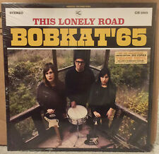 BOBKAT '65 This Lonely Road LP YELLOW VINYL Parrots Hinds Los Nastys Cosmen Lois