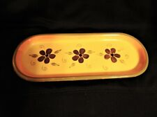 Partylite Candle Tray or Other Home Decor - Vintage Detail Colors
