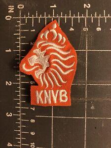 KNVB Holland Holanda Netherlands National Football Team Patch Soccer Lion Crest