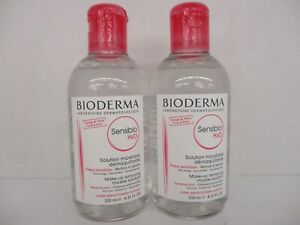 2 BIODERMA SENSIBIO H2O MAKE-UP REMOVING MICELLE SOLUTION EXP: 2/22+ BB 3894