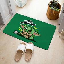 Baby Yoda Living Room Area Rug Carpet 3D Print Anti-Skid Rug Home Floor Mats