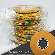 "1/4"" ATG Tape [144 Rolls] Guaranteed to Fit Your Pink Glider & Scotch® #714 Gun"