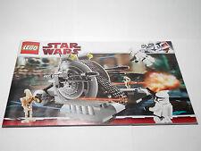 LEGO Instruction Book 7748 Star Wars Clone Wars Corporate Alliance Tank Droid
