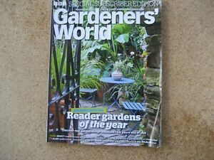 Gardener's World Magazine November2019. Special Subscriber Edition.