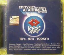 VARIUS / GREEK COMPILATION 2 CD / KISS FM / REAMON COOPER SHAKIRA STING / 2008