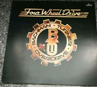 Bachman-Turner Overdrive - Four Wheel Drive (Vinyl LP) UK 1st Press EX/EX