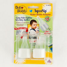 Baby Buddy AquaSip Water Bottle Nipple Adapter, 2 pack