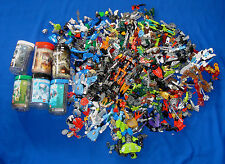 4KGS HUGE LOT ASSORTED LEGO BIONICLES & HERO FACTORY SPARES
