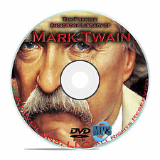 100 Audiobooks of Mark Twain, All His Classic Books on MP3 DVD, Tom Sawyer ++B74