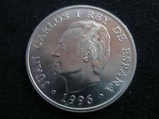 1996 - ESPAÑA - 2000 PESETAS - MONEDA PLATA JUAN CARLOS I (Sin circular) UNC