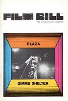 "ROLLING STONES 1971 ""GIMME SHELTER"" CONCERT MOVIE PROGRAM-ALTAMONT-BUSTER KEATON"