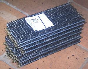 LOT 80 RAILS DROIT TRAIN LOCOMOTIVE WAGONS HO JOUEF ENVIRON 24  CM