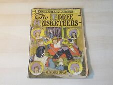 CLASSIC COMICS #1 THREE MUSKETEERS 5TH ED HRN 21 RICHMOND COURIER HTF!!