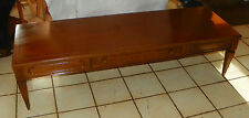 Mid Century Walnut Mersman Coffee Table with Drawer  (CT97)