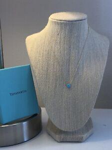 Tiffany & Co. Turquoise One Carat Pendant