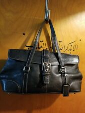 COACH VINTAGE LEATHER HAMPTON BUCKLE HANDBAG PURSE 9267 BAG SATCHEL SHOPPER TOTE