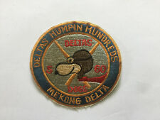 PATCH - 5.60th Infantry Deltas Humpin Hundreds Deltas Dogs Patch