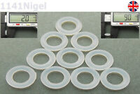 9mm OD  2mm CS O Rings Seal Silicone VMQ Sealing O-rings Washers