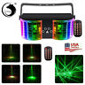 Sound Activated LED Stage Light RGBW Mixed Beam Lights Effects DMX 512 DJ Party