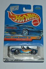 1997 Hot Wheels SHELBY COBRA 427 S/C Race Team Series IV Original MIP 1:64 Dieca