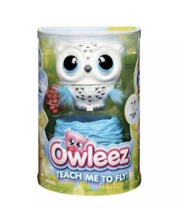 Owleez - Flying Baby Owl Interactive Pet (White) NEW