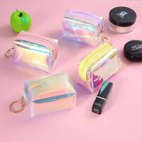 Transparent Laser Bag Women Shoulder KeyChain Bags Tote Handbag Clear Purses