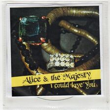 (FW761) Alice & The Majesty, I Could Love You - DJ CD
