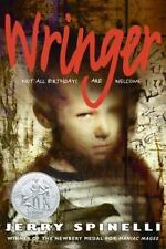 Wringer by Jerry Spinelli NEW Scholastic Paperback Newbery Honor Ages 11-14