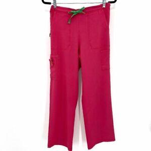 Carhartt Women's Cross-Flex Utility Boot Cut Cargo Medical Small Scrub Pants