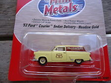 Classic Metal Works HO- '53 Ford Courier Sedan Meadow gold