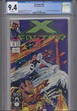 X-Factor #63 CGC 9.4 1991 Marvel Porticio and Thibert Comic: New Frame