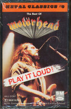 Motorhead - Play It Loud: Best Of (Cassette Tape) **BRAND NEW/STILL SEALED**