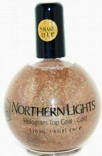 inm NORTHERN LIGHTS HOLOGRAM TOP COAT-GOLD / 4 OZ - Refill Size