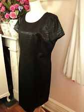 black sportscraft dress   LBD 18