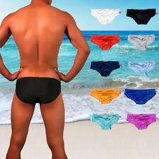 Sexy Mens Low-waist Stretch Bikini Swimwear Beachwear Underwear Swim Briefs