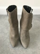 ALLSAINTS ankle boots in taupe suede, size 6 (UK), Price £200 (+ p&p)