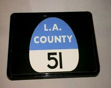 La County Station 51 fire fighter Captain's Rescue Squad Trailer Hitch Cover C