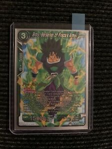 Dragon Ball Super Card Game Broly, Berserker Of Friezas Army Pre-Release NM