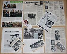 FELIX RODRIGUEZ DE LA FUENTE coleccion 10x articulos de prensa 1970s/1980s TVE
