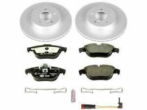 For 2010-2014 Mercedes E350 Brake Pad and Rotor Kit Rear Power Stop 34979PQ 2012